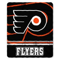 NHL 031 Flyers Fade Away Fleece Throw