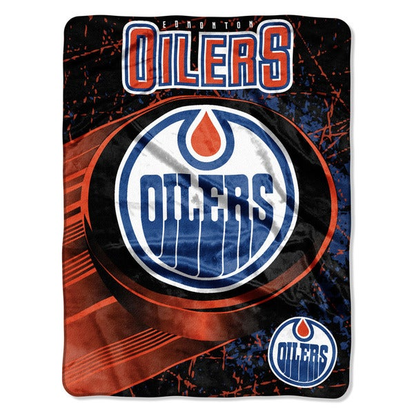 NHL 059 Oilers Ice Dash Micro Throw
