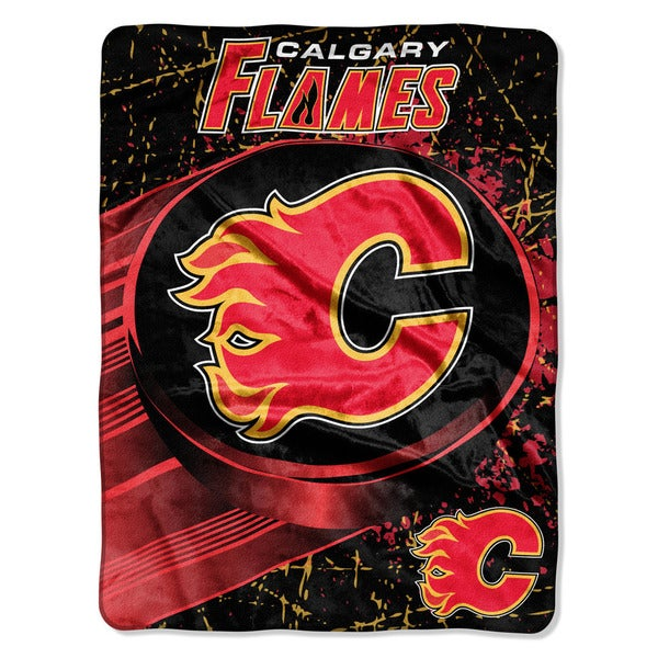 NHL 059 Flames Ice Dash Micro Throw
