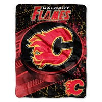 NHL 059 Flames Ice Dash Micro Throw