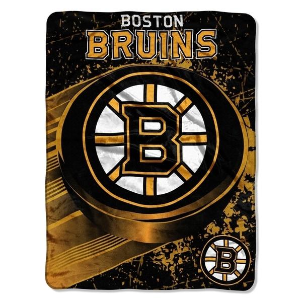 NHL 059 Bruins Ice Dash Micro Throw