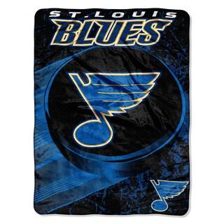 NHL 059 Blues Ice Dash Micro Throw
