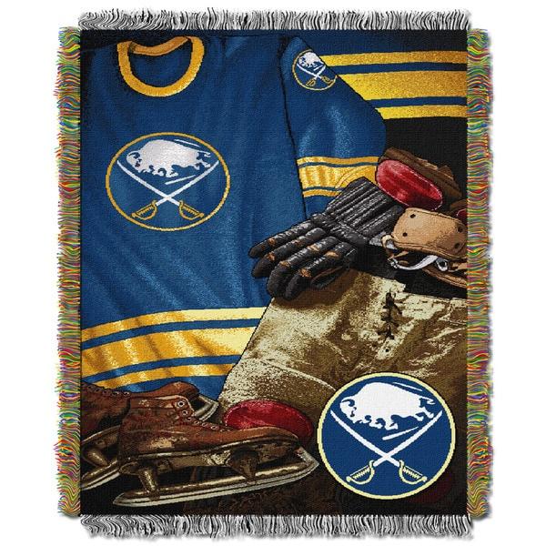 NHL 051 Sabres Vintage Throw