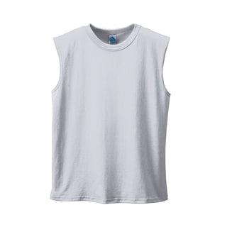 Men's Shooter Grey Cotton/Polyester T-shirt