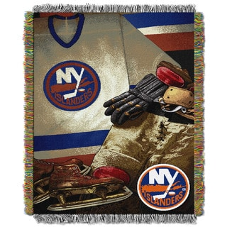 NHL 051 Islanders Vintage Throw