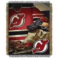 NHL 051 Devils Vintage Throw