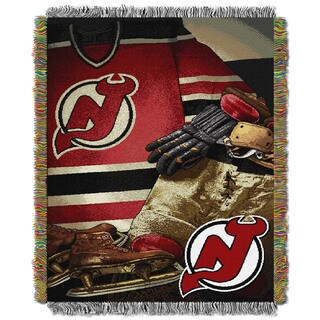 NHL 051 Devils Vintage Throw