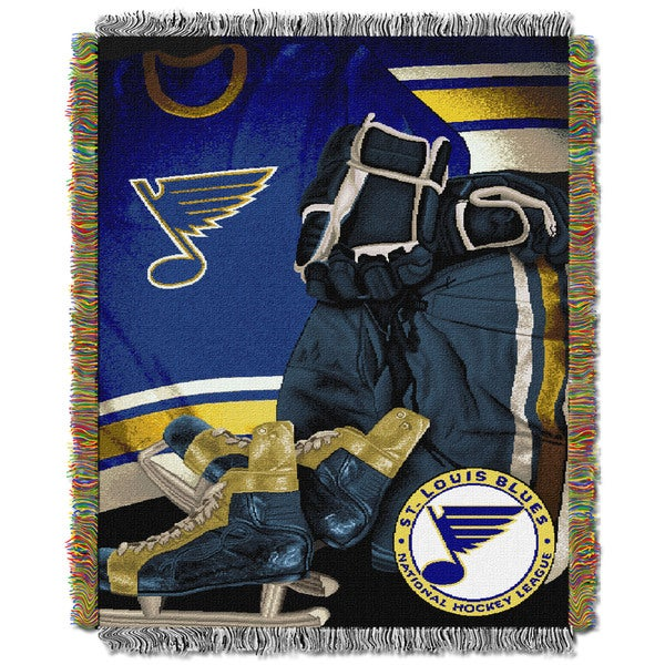 NHL 051 Blues Vintage Throw