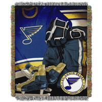 NHL 051 Blues Vintage Throw