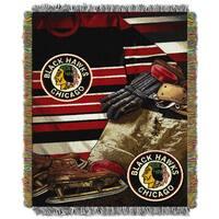 NHL 051 Blackhawks Vintage Throw