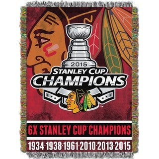 NHL 051 Blackhawks Commemorative Throw