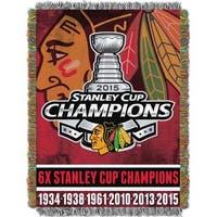 NHL 051 Blackhawks Commemorative Throw