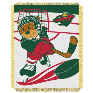 NHL 044 Wild Baby Throw