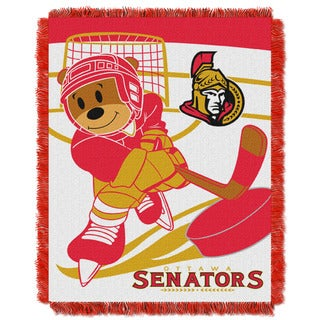 NHL 044 Senators Baby Throw