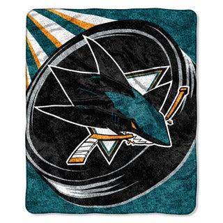 NHL 065 Sharks Sherpa Puck Throw