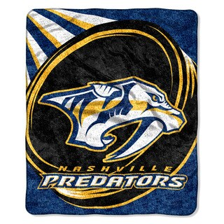 NHL 065 Predators Sherpa Puck Throw