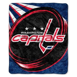 NHL 065 Capitals Sherpa Puck Throw