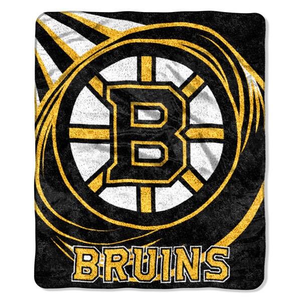 NHL 065 Bruins Sherpa Puck Throw