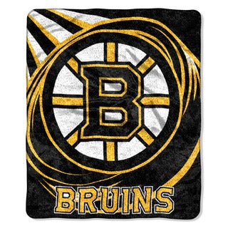 NHL 065 Bruins Sherpa Puck Throw