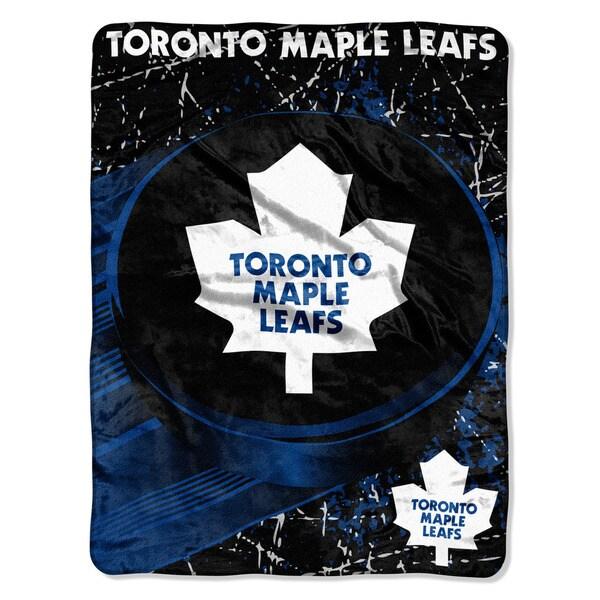 NHL 059 Maple Leafs Ice Dash Micro Throw