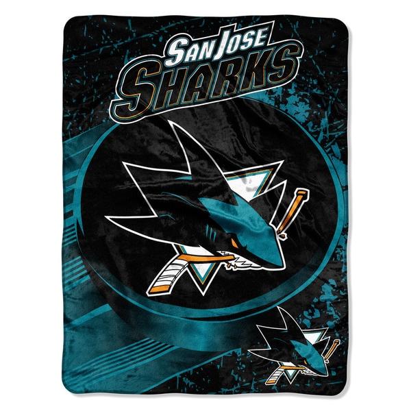 NHL 059 Sharks Ice Dash Micro Throw