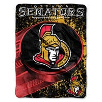 NHL 059 Senators Ice Dash Micro Throw