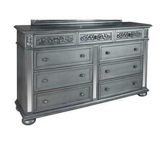 Lyke Home Nova White Veneer Dresser