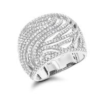Luxurman 14k Gold 1ct TDW Diamond Ring