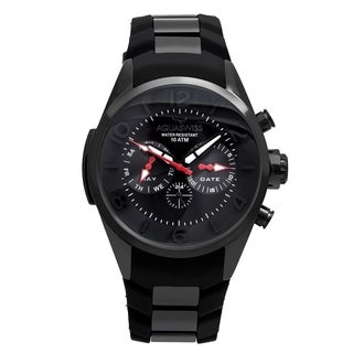 Aquaswiss Unisex Trax 5H Stainless Steel Black Watch