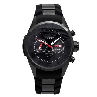 Aquaswiss Unisex Trax 5H Stainless Steel Black Watch|https://ak1.ostkcdn.com/images/products/12112965/P18973929.jpg?impolicy=medium