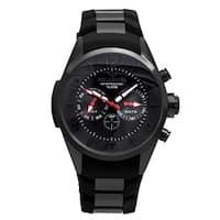 Aquaswiss Unisex Trax 5H Stainless Steel Black Watch