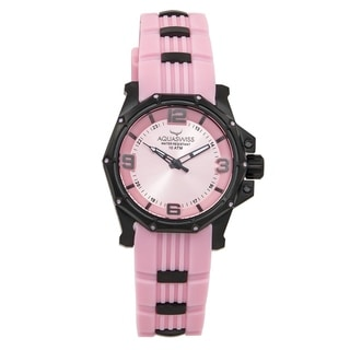 Aquaswiss Unisex 81M007 Vessel M Pink Stainless Steel Watch
