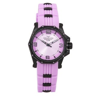 Aquaswiss Unisex Vessel M Purple Stainless Steel Watch