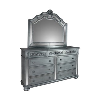 LYKE Home Nova Dresser and Mirror set