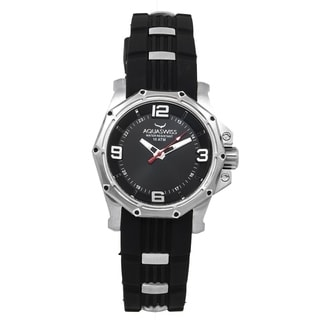 Aquaswiss Unisex Vessel M Black Stainless Steel Watch