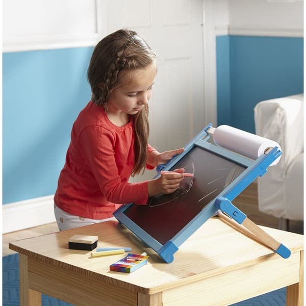 Shop Melissa Doug Deluxe Double Sided Tabletop Easel