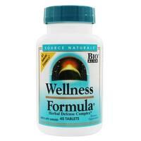 Source Naturals Wellness Formula Herbal Defense Complex (45 Tablets)