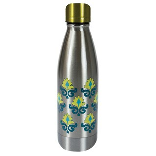 Stainless Steel Double Wall 17-ounce Flowers Bottle
