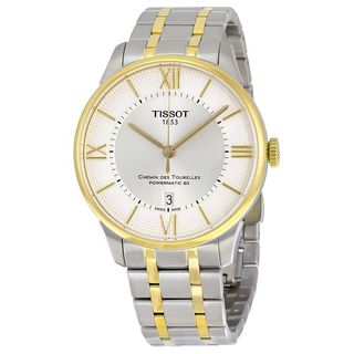 Tissot Men's T0994072203800 'T-Classic Chemin Des Tourelles' Automatic Two-Tone Stainless Steel Watch