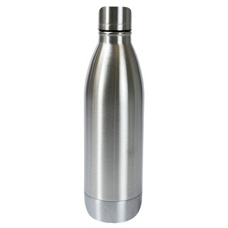 Boston Warehouse Silver Stainless Steel Double-wall 25-ounce Bottle