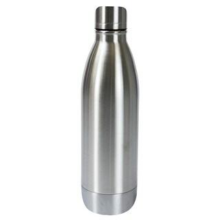 Boston Warehouse Silver Stainless Steel Double-wall 25-ounce Bottle