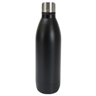 Black Stainless Steel 25-ounce Double Wall Bottle