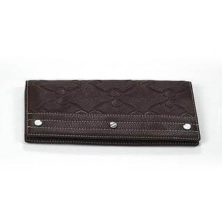 Charriol Escapade VI Brown Leather Stamped Wallet|https://ak1.ostkcdn.com/images/products/12113347/P18974268.jpg?impolicy=medium