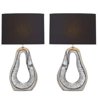 Urban Designs Kai Silver Ceramic Mosaic Table Lamp (Set of 2)|https://ak1.ostkcdn.com/images/products/12113378/P18974286.jpg?impolicy=medium