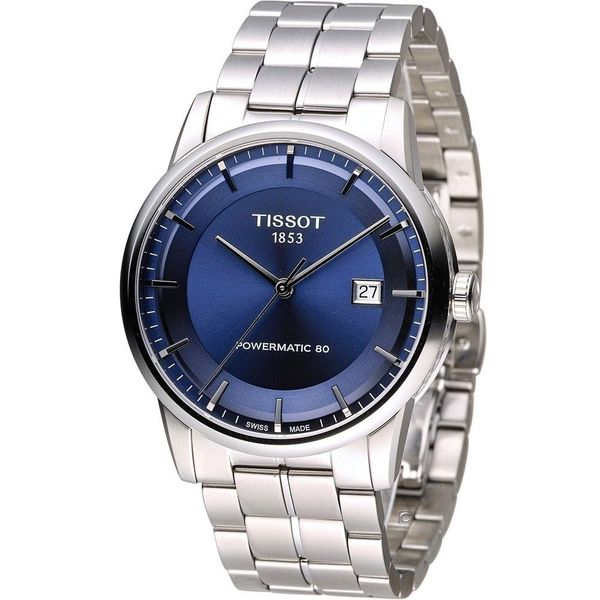 5b8e7f6c321d Shop Tissot Men s T0864071104100  Powermatic 80  Automatic Stainless Steel  Watch - Free Shipping Today - Overstock - 12113457