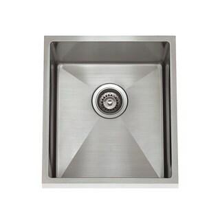 Stainless Steel 1/2 Radius Undermount Sink