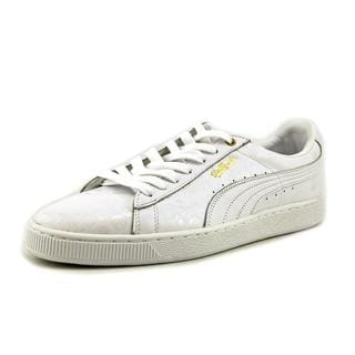 Puma Men's 'Basket Classic x S' Leather Athletic Shoes