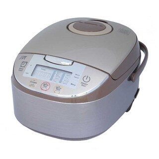 Sunpentown 8-cup Capacity Automatic Adjustment Smart Rice Cooker