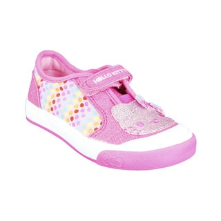Keds Girls' Pink Textile Casual Shoes