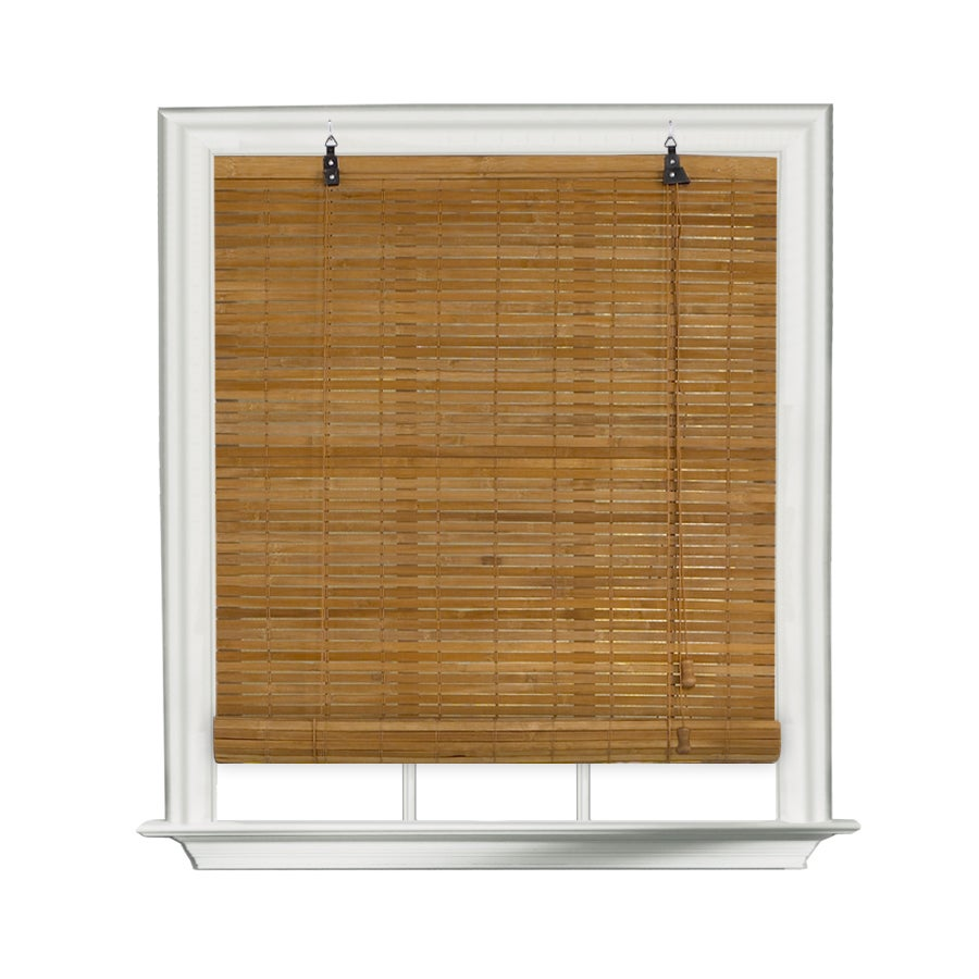 Lewis Hyman Venezia Flatstick Bamboo Spice Roll-Up Shade ...